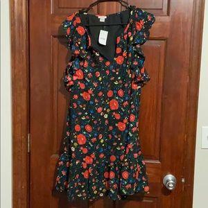 J Crew Floral Print Dress